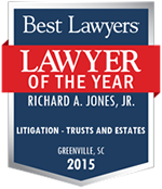 Richard A. Jones Jr Attorney | Best Lawyers 2015