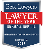 Richard A. Jones Jr Attorney | Best Lawyers 2017